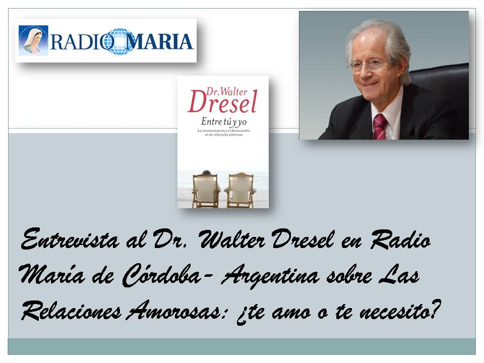 Entrevista en Radio María - WD JPEG