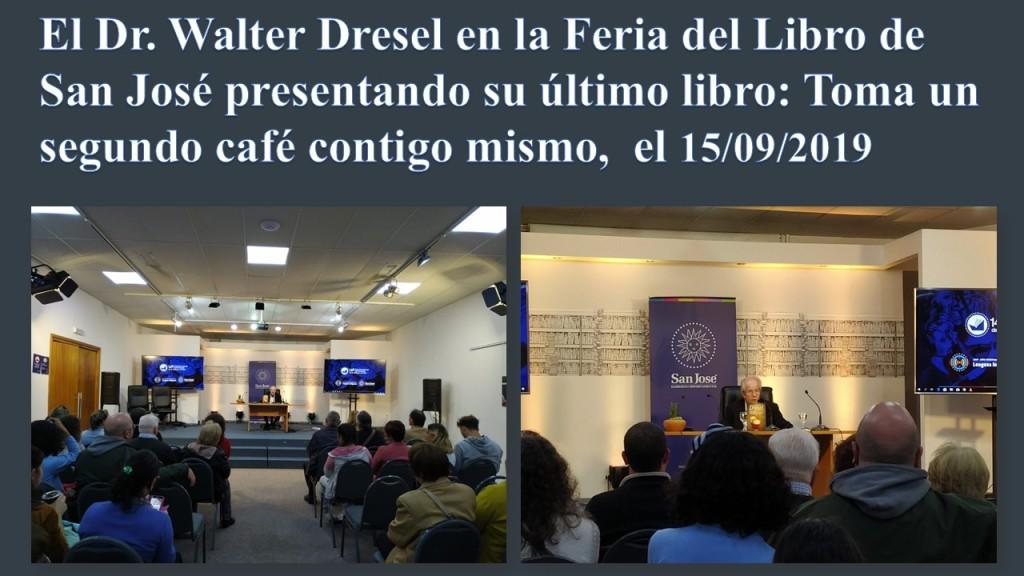 El Dr. Walter Dresel en la Feria del Libro de San José 2019 - JPEG
