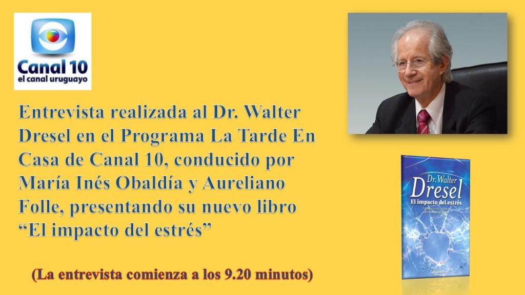 Entrevista de Canal 10 al Dr. Walter Dresel - JPEG